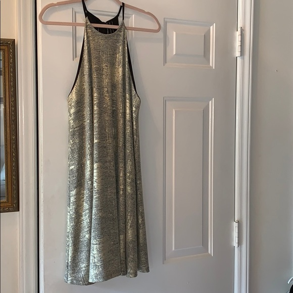 Lilac Clothing Dresses & Skirts - Metallic gold/silver Dress